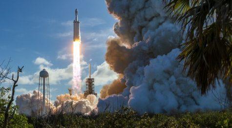 Elon Musk's SpaceX Rocket Launch