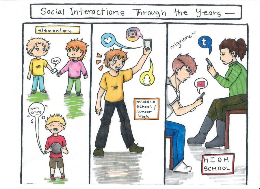 Social Media is Killing High School Hallways