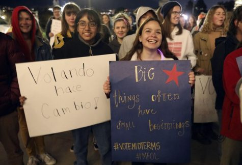 Utah Teens Rallied To Show Their Enthusiasm For Voting