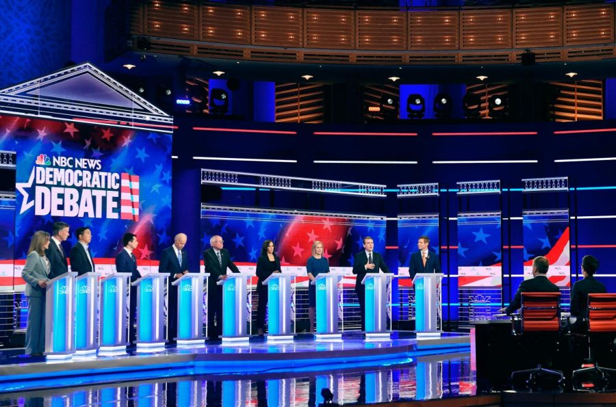The Leading Democratic Candidates Fight for a Spot in the 2020 Presidential Elections