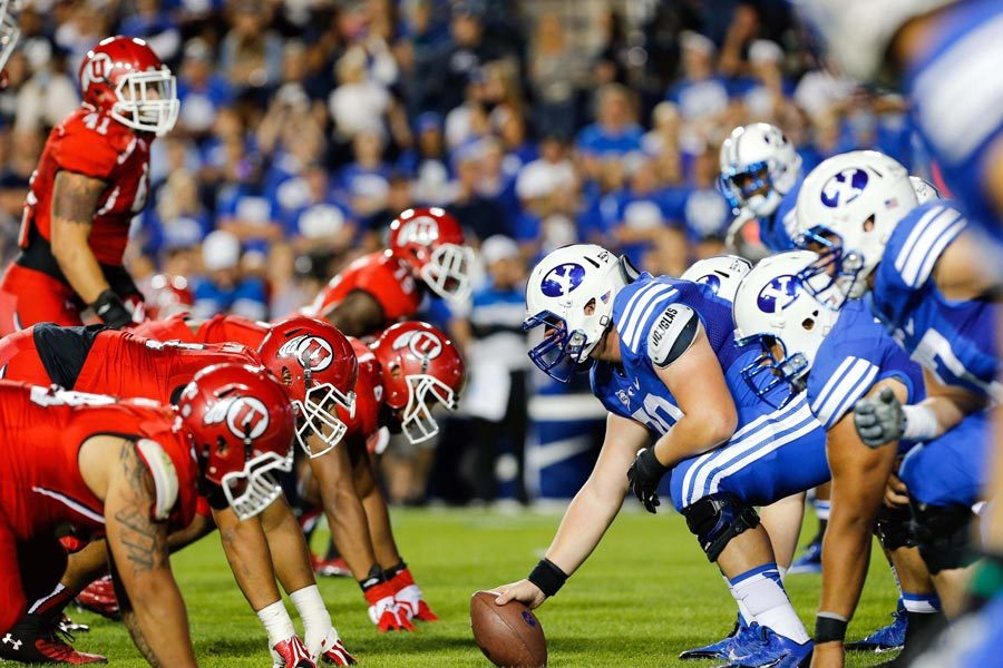 Utah Utes vs Brigham Young University