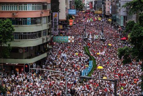 A Glimpse At The Hong Kong Protests