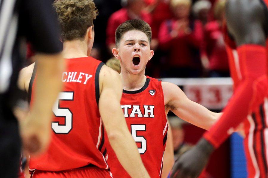 University Of Utah Men's Basketball Team Destroys Mississippi Valley State