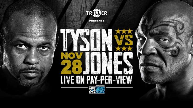 Mike Tyson vs. Roy Jones Jr. Fight