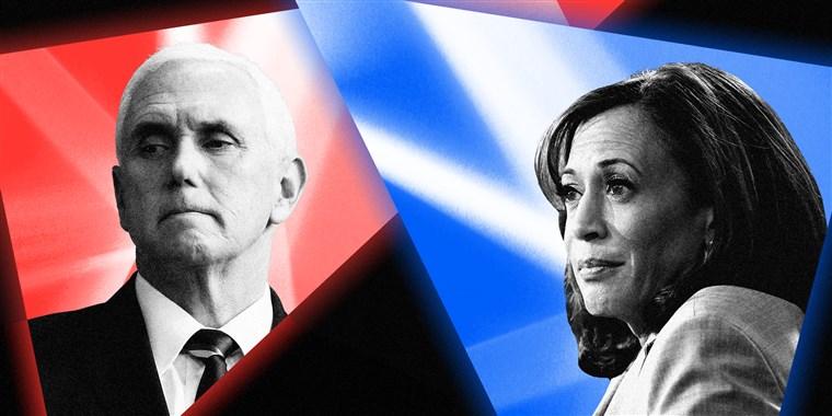 Senator Kamala Harris Debates VP Mike Pence in Salt Lake City, Utah