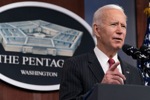 President Biden Ordered Airstrikes On Syria